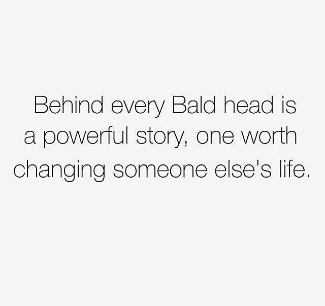 Best Alopecia Images On Pinterest Bald Women Bald Girl And - Bald hairstyle quotes