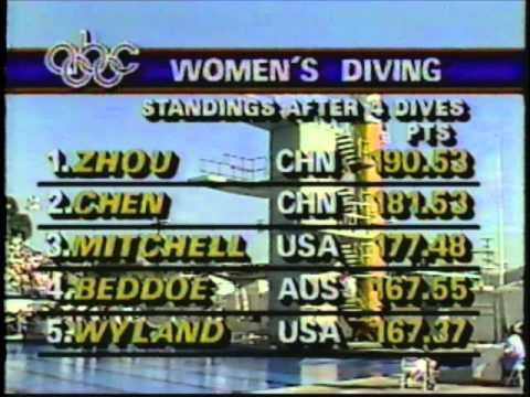 1984 Olympic Games   Women's 10 Meter Platform Diving
