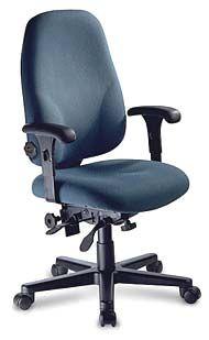 Officer's High Back Ergonomic Office Chair