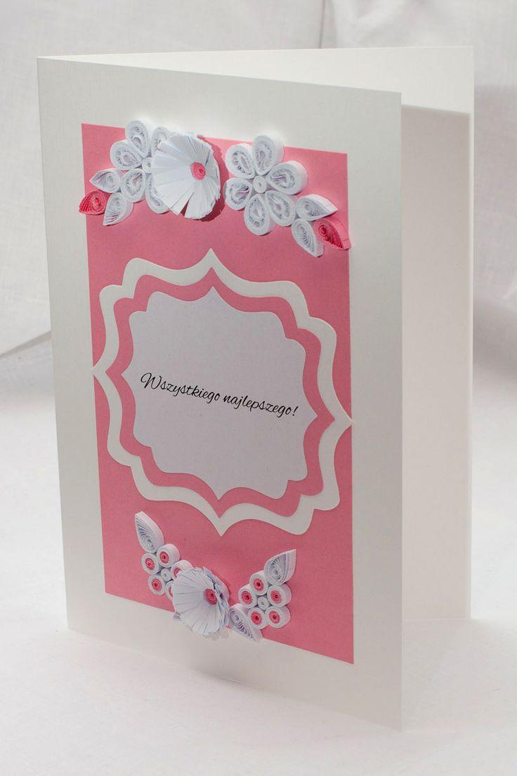 kartki urodzinowe, kartki imieninowe, zaproszenia ręcznie robione