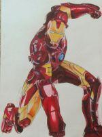 Iron Man (fanart) by Nadia-AsViv