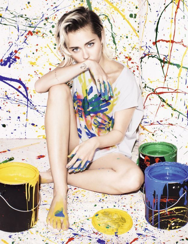 Miley Cyrus – Elle UK Magazine PhotoShoot | She's a Soft Summer and looks best with her natural roots