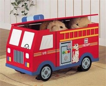 http://www.theboysdepot.com/fire-truck-room-accessories/