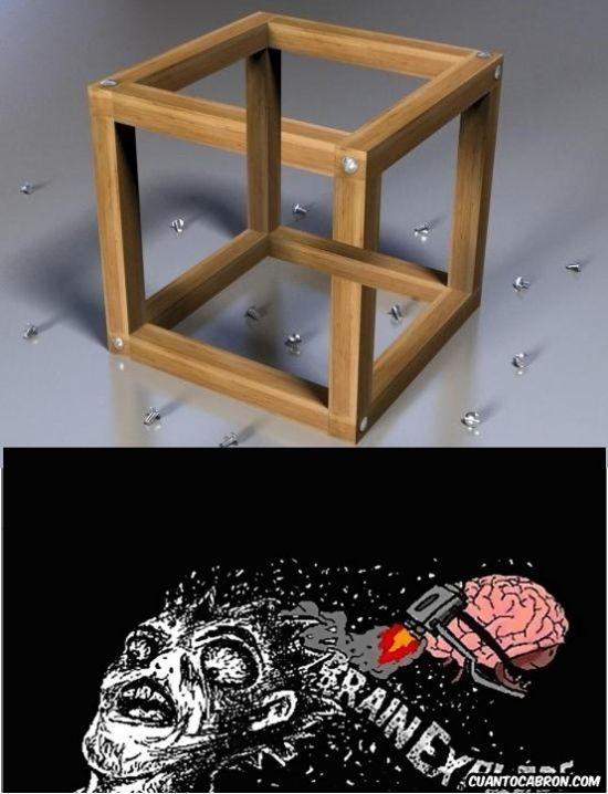 Memes gratis: ¿Soy yo o esto es más Brain Explode de lo que suele ser este tipo de ilusión óptica?