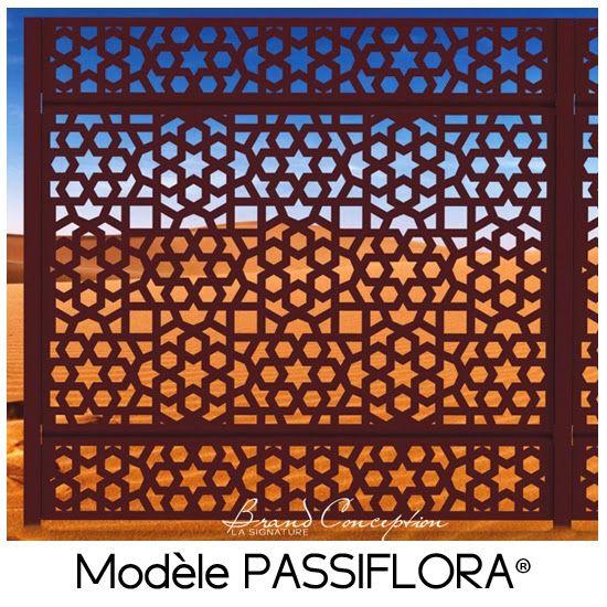 Palissade Alu modèle PASSIFLORA