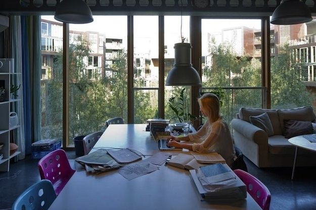 Natural-light study space. | 14 Reasons Everyone Needs To Move To Denmark…
