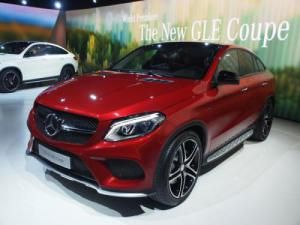 Mercedes-Benz has introduced the GLE 450 AMG Coupe for Europe at the 2015 Geneva Motor Show