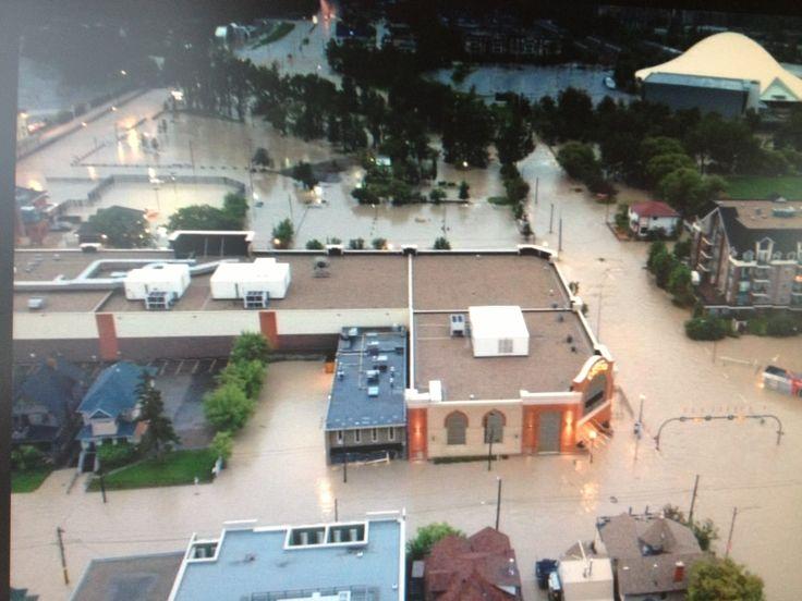 Calgary flood June 2013