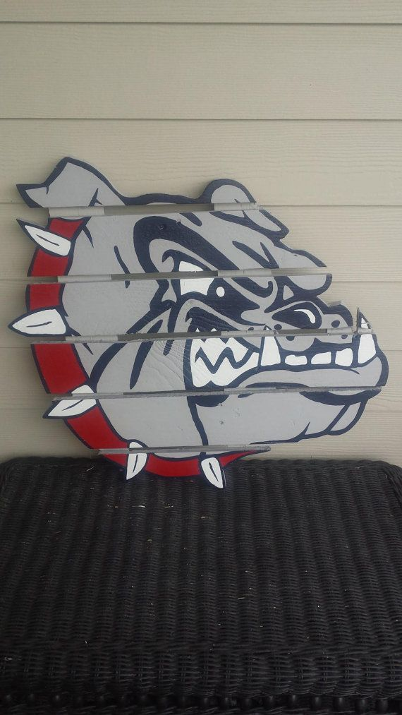 Gonzaga University Bulldogs   Zags Wood Pallet by MonicasFavThings