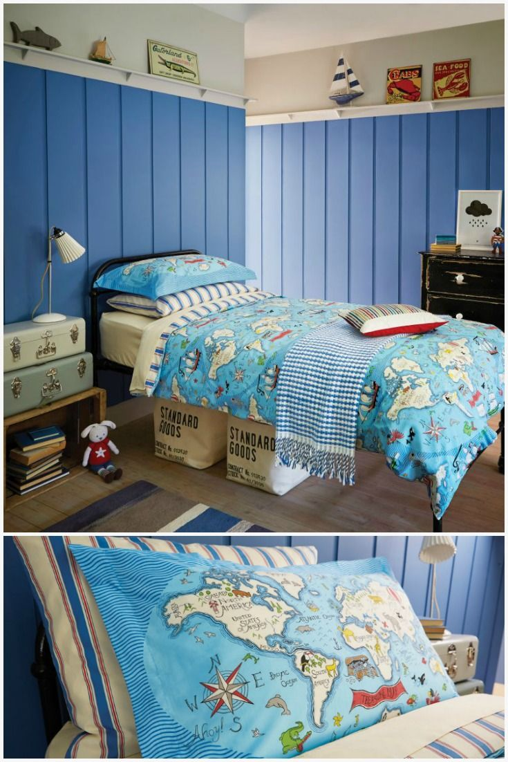 25 best bedding duvet covers for kids images on pinterest treasure map single duvet set multi by sanderson brewers home gumiabroncs Gallery