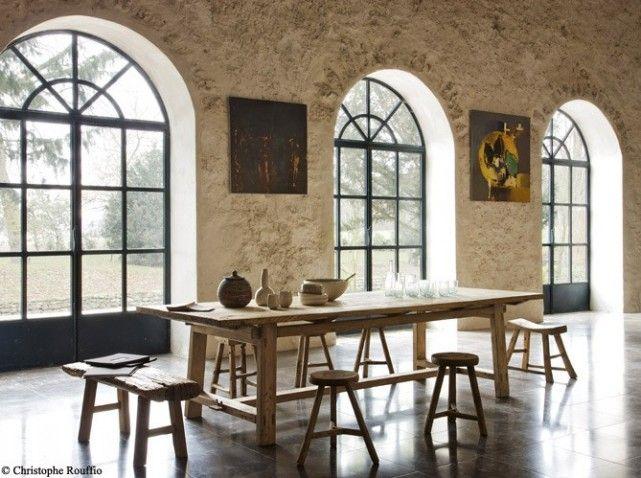salle a manger grande table en bois - Salle A Manger Grande Table