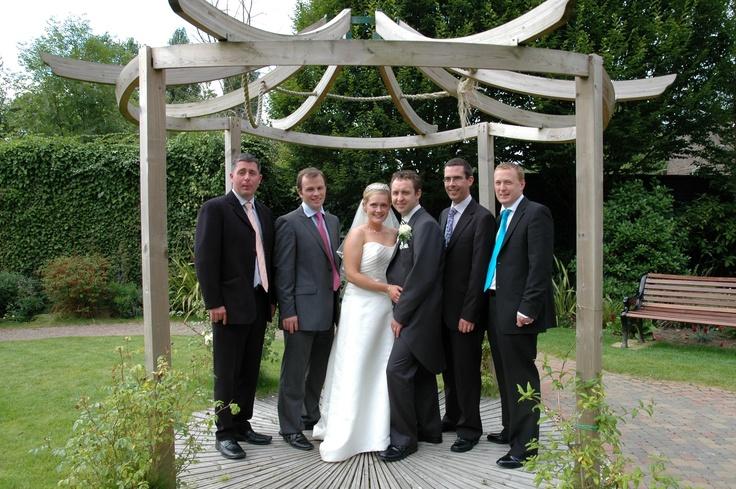Wedding garden at Everglades