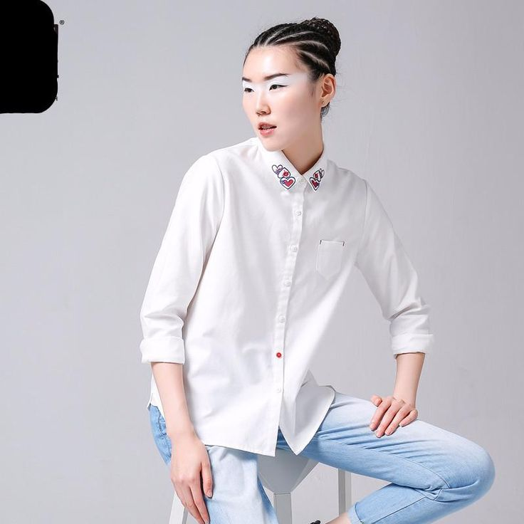 limited edition!! Women Casual Cotton Blouses Shirts – abouttfeelings