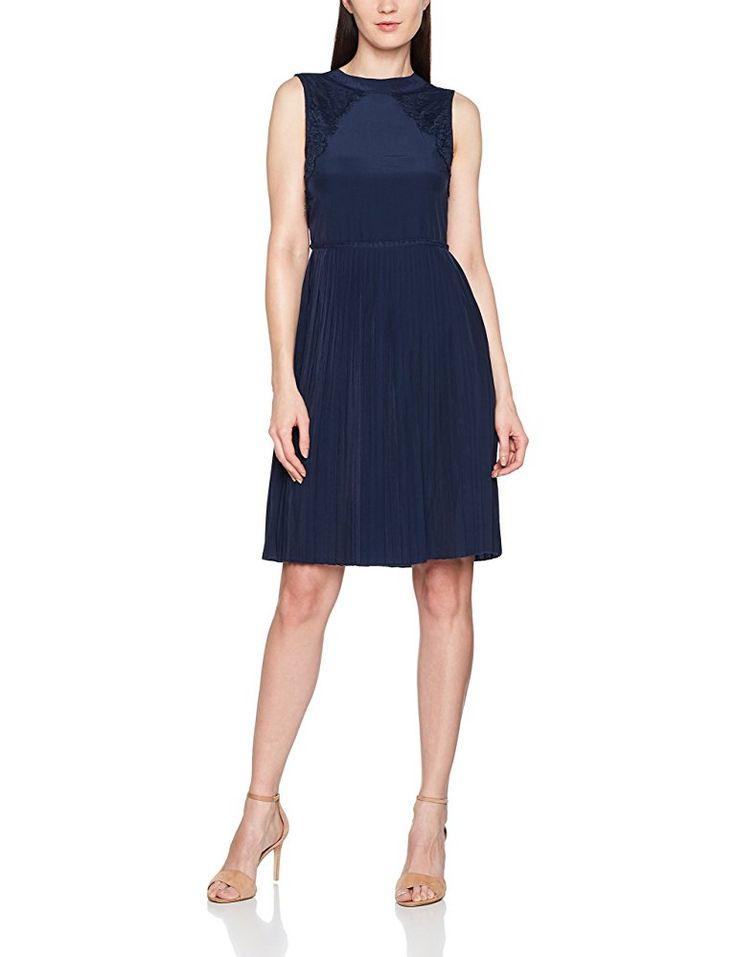 BlendShe Damen Partykleid Stine S Dr, Blau (Black 20100 ...