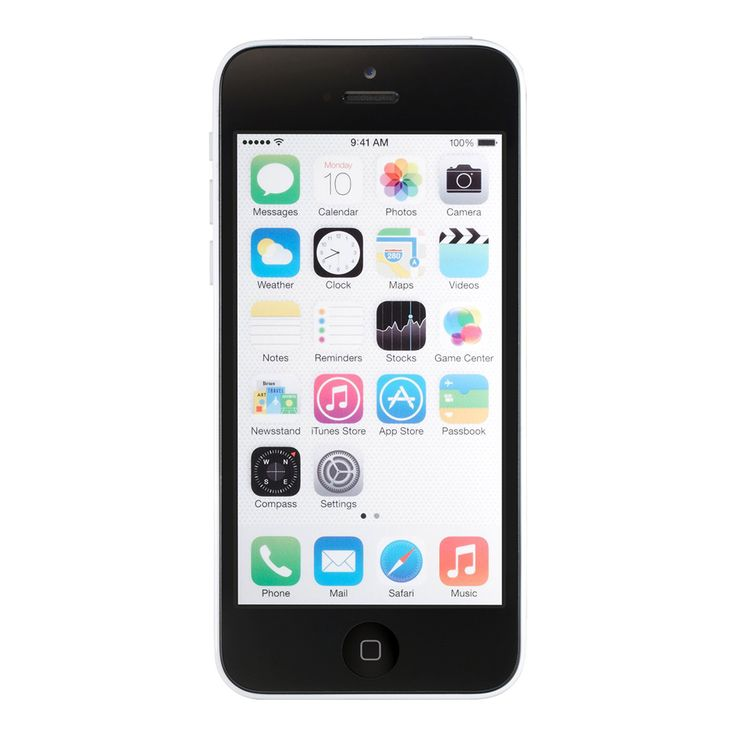 Refurbished Apple iPhone 5C AT&T White 8GB (MGF02LL/A) (A1532)