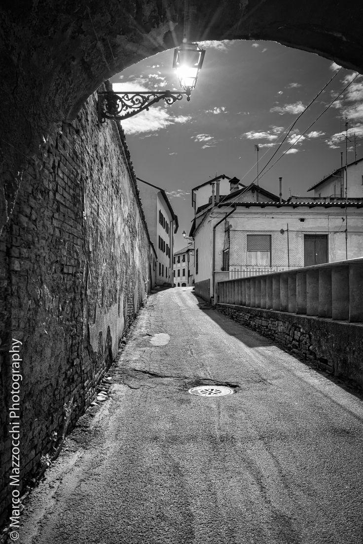 Via Durazzo in Novi Ligure, Italy