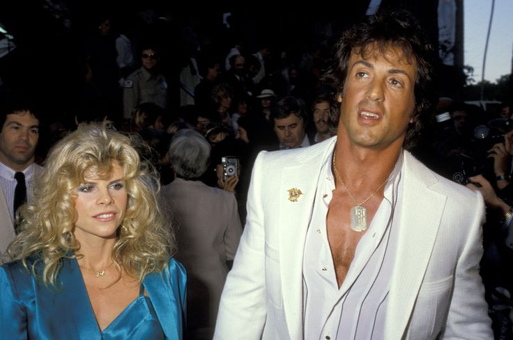 Sylvester Stallone & first wife Sasha Czack married 1974 ...