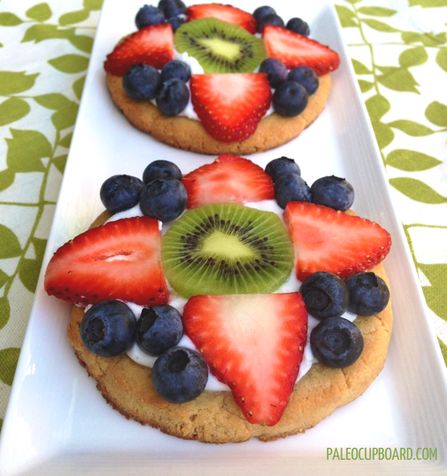 coconut fruit or vegetable healthy fruit pizza recipe