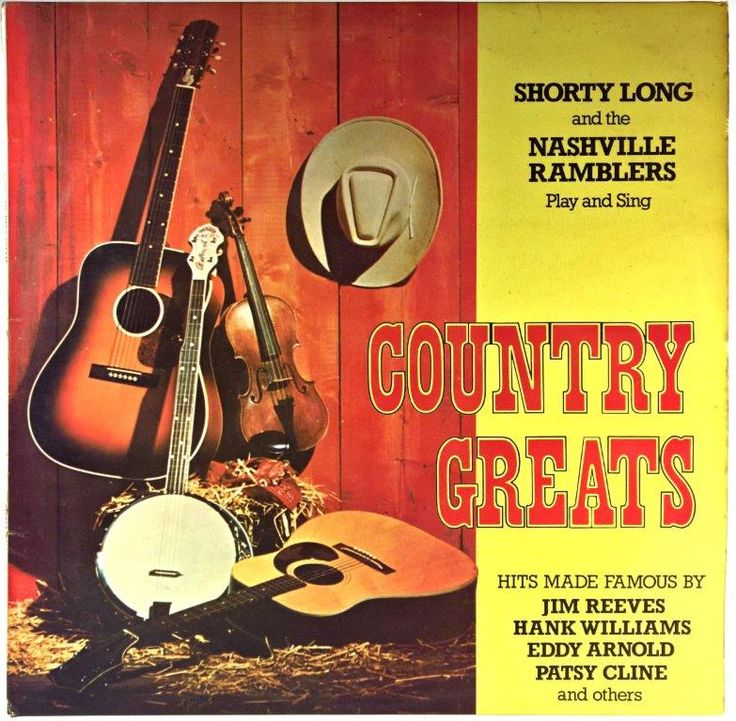 Shorty Long And The Nashville Ramblers - Country Greats