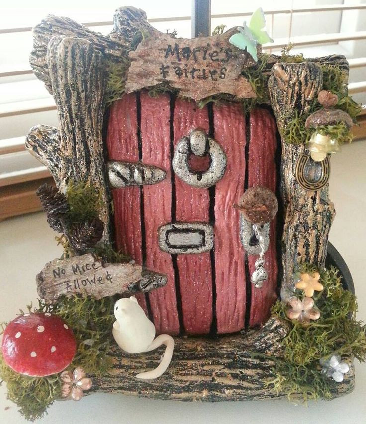 Fairy Door by Fairy Thing's by Toni Louise xx