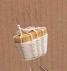 Weaving mini baskets