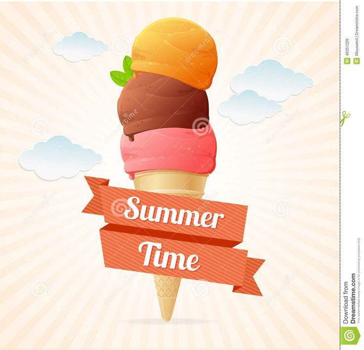 Καλοκαίρι , καιρός ......για ice cream summer