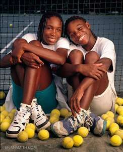 Venus & Serena Williams in 1994.  So young.