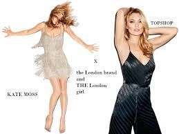 Kate Moss | Topshop | sort of Designers Collaborations with Retailers #mafash #bocconi #sdabocconi #mooc #m2