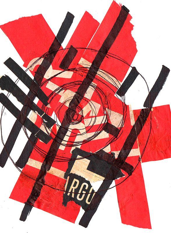 """Rodrigo Gárate Chateau. Parte de la serie """"Ni magenta ni verde"""" (2014). Versiones del poema de Fernando Ortega. Ver animación: http://rodrigogarate.cl/ni_magenta_ni_verde/"""