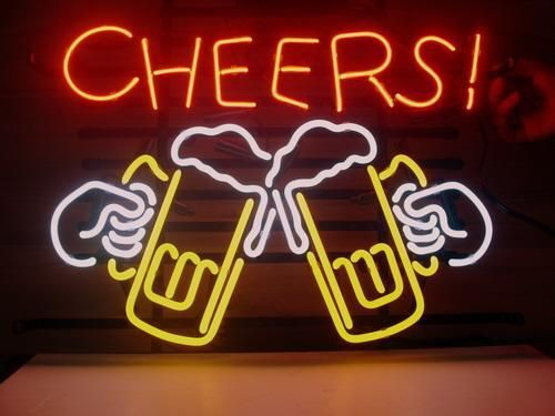 17 Quot X14 Cheers Logo Beer Bar Pub Store Garage Neon Light