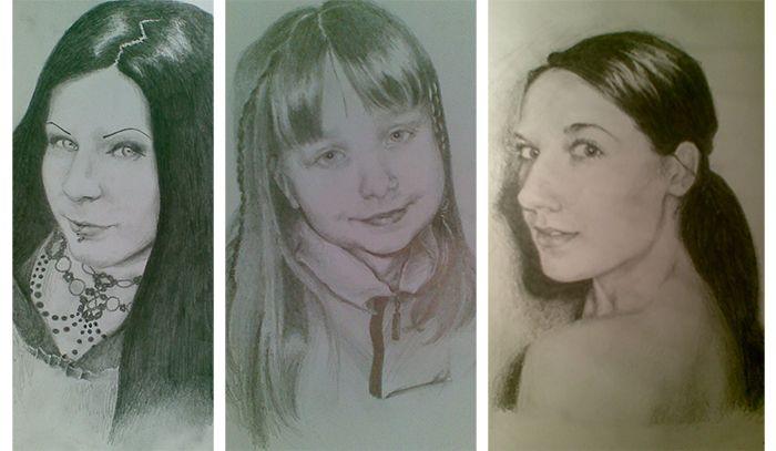 Old Portraits by DarwiO