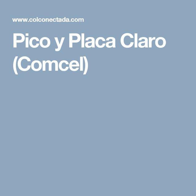 Pico y Placa Claro (Comcel)