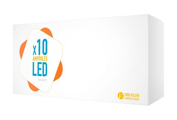 1 ménage sur 2 peut recevoir gratuitement 10 ampoules LED grâce à la Loi Transition Énergetique. Commandez en quelques clics votre pack d'ampoules LED ! 4 culots disponibles : ampoule LED E27, ampoule LED B22, ampoule LED E14, ampoule LED GU10.  Livraison gratuite - 80% d'économies d'énergie - Données sécurisées