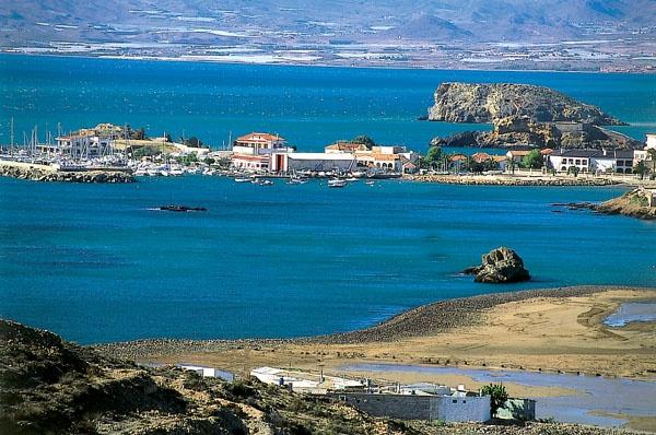 Vista general de la Bahía de Mazarrón