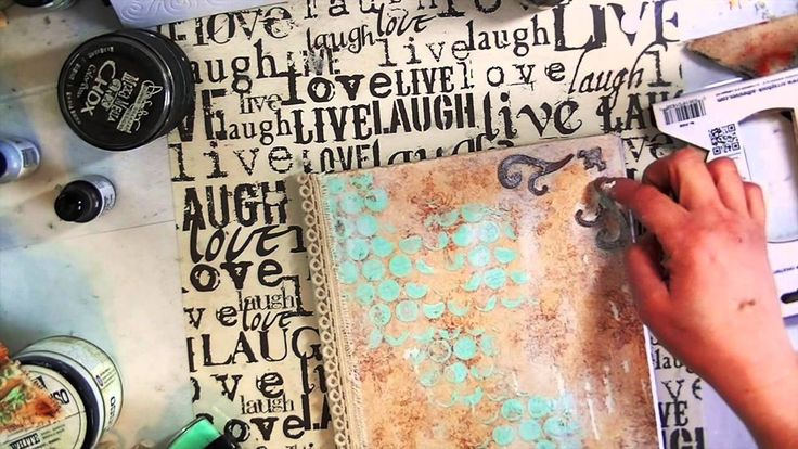 """Picture Perfect"" (altered composition notebook) - YouTube"