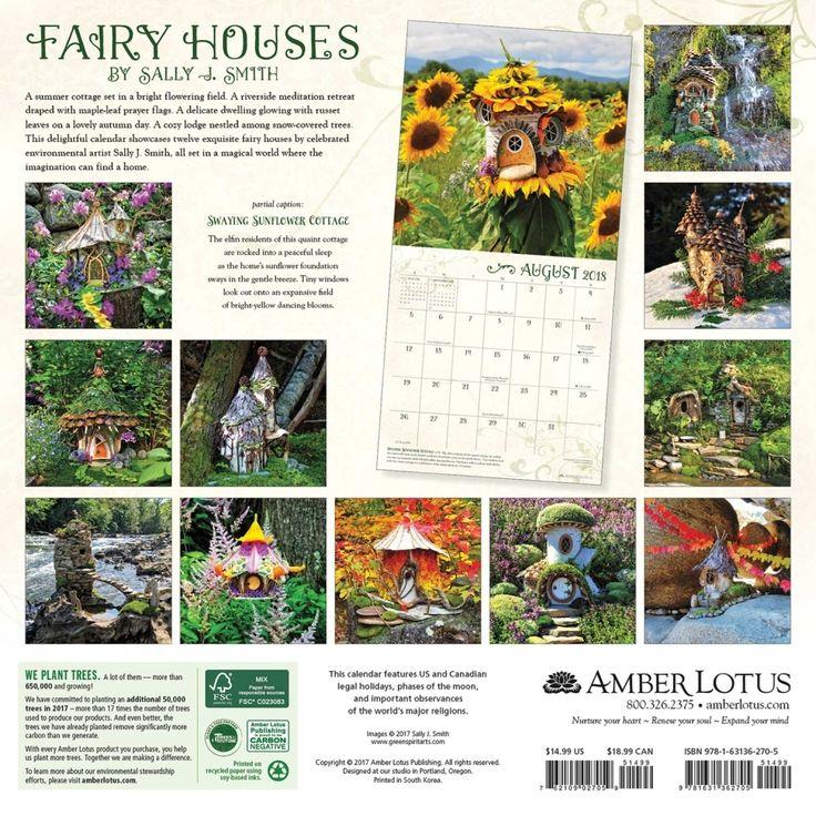 Read Fairy Houses 2017 Wall Calendar Online