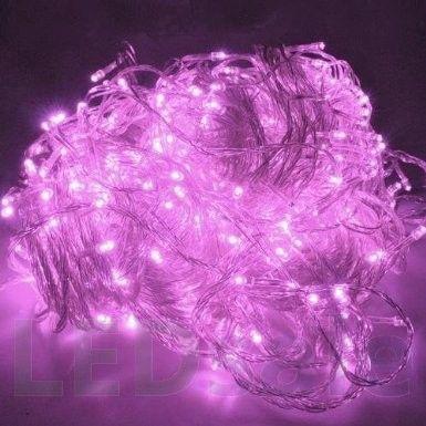 10 Meter LED Jouluvalot – Pinkki