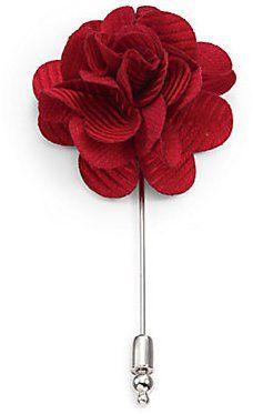 Pin for Later: 50 kreative (& teils auch ganz praktische) Geschenkideen für Papa  Saks Fifth Avenue Collection Anzug-Anstecker (ursprünglich 36 €, jetzt 22 €)