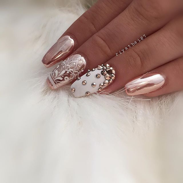 17 Best Ideas About Nail Salon Games On Pinterest: 17 Best Ideas About Metallic Nails On Pinterest