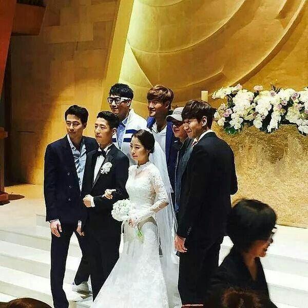 Lee Kwang Soo sister's wedding #soongjongki #joinsung #leekwangsoo #jisukjin #kimjongkok