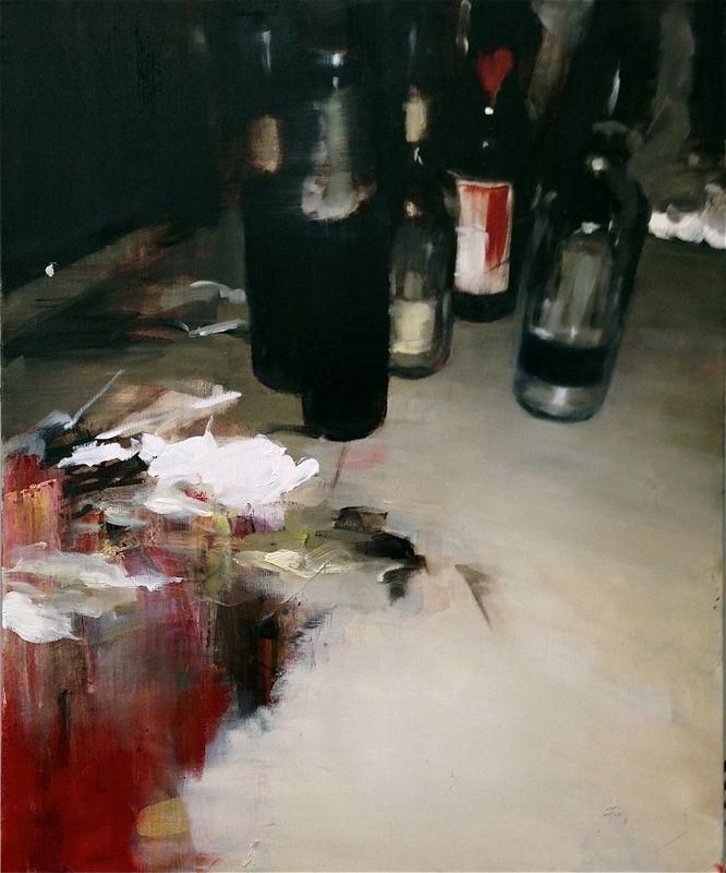 "Ryo Kawada ""ZIMA"" 2013 oil on canvas 65.6×53.0cm #painting #art #contemporary"