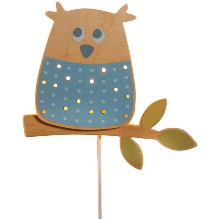 Avec la veilleuse murale Hibou des bois de Haba, votre enfant sera en bonne compagnie !