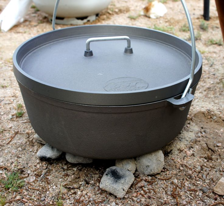 Dutch oven peach cobbler recipe bbq potatoes dutch for Healthy dutch oven camping recipes