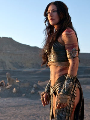 In the Disney film, Collins plays the Martian warrior Princess Dejah Thoris.