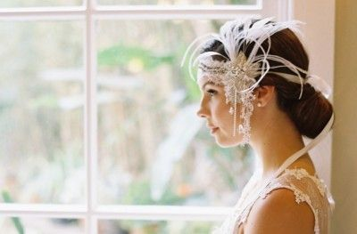Erica Elizabeth Designs - Headband | Great Gatsby Wedding Style