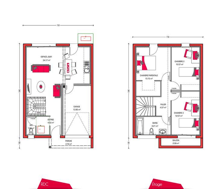 69 best Maisons images on Pinterest Building, Construction and