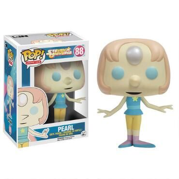 This Steven Universe Vinyl PoP figure features Pearl, the intellectual Crystal Gem.