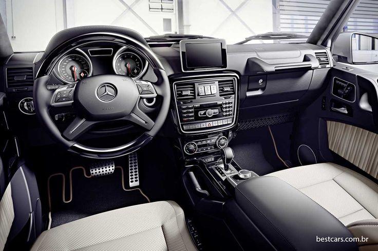 Mercedes Classe G 2016 está mais potente e econômico | Best Cars