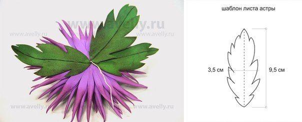 Нежные цветы из фоамирана — Рукоделие