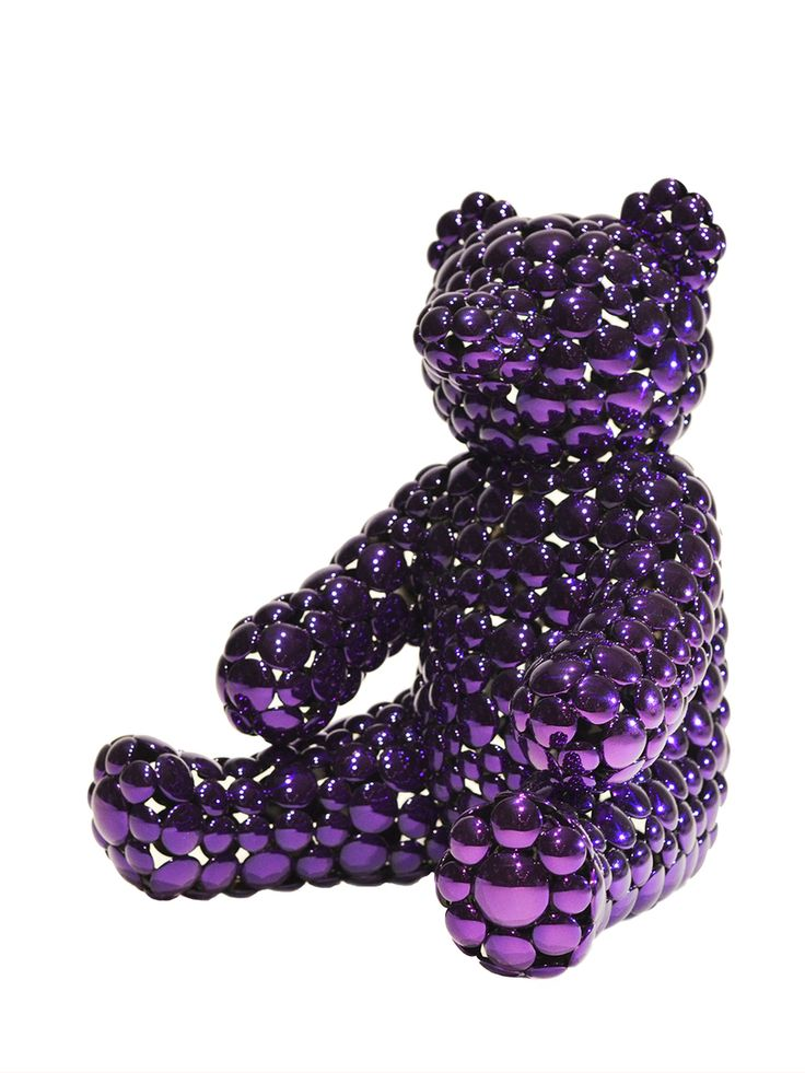 The Public House of Art | Valay Shende - Purple Teddy Bear Modern Sculpture | Teddy Bear #awesomeart